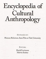Encyclopedia of Cultural Anth
