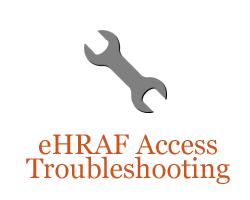 Problems accessing eHRAF