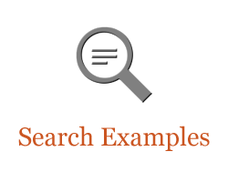Sample searches in eHRAF