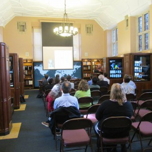 HRAF Presentation at Yale's Sterling Memorial Library