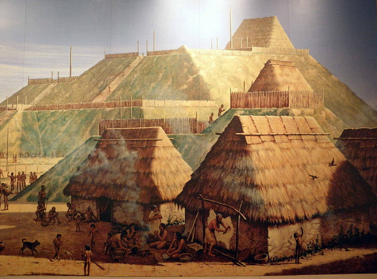 """Cahokia Mounds State Historic Site"" by Mike Steele, Flickr Creative Commons"