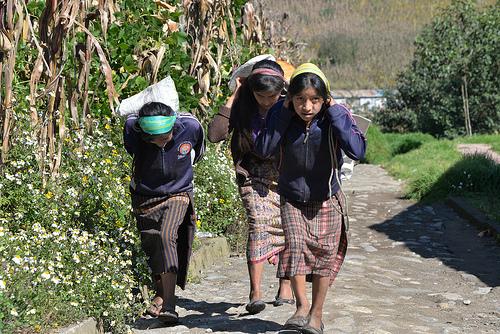 children village work photo