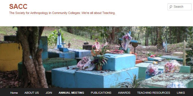 The Society for Anthropology Community Colleges (SACC). They are all about teaching.