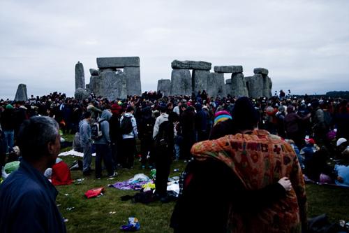 stonehenge wide photo