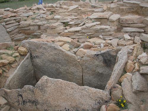 Scythian burial photo
