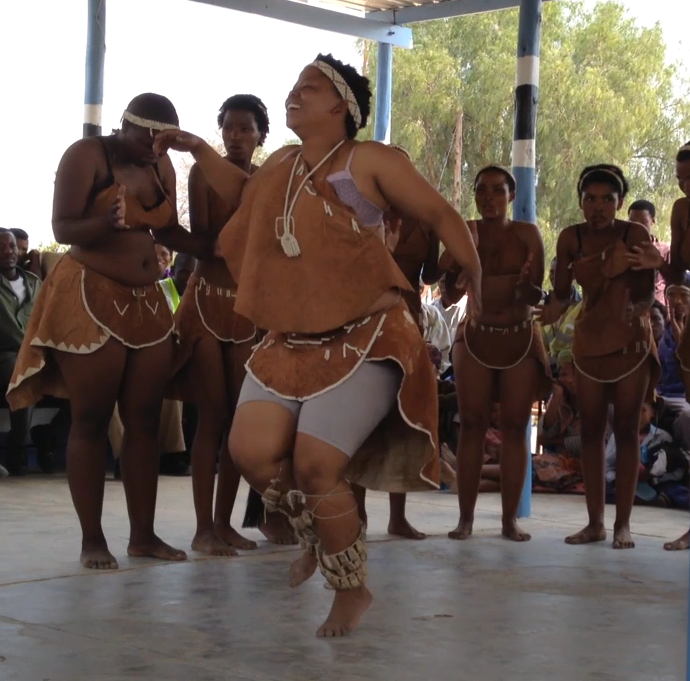Fieldnotes: Traditional Basarwa (San) dancing in Botswana [Video]