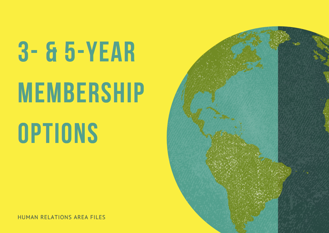 New member offer: special rates for 3- & 5-year HRAF memberships