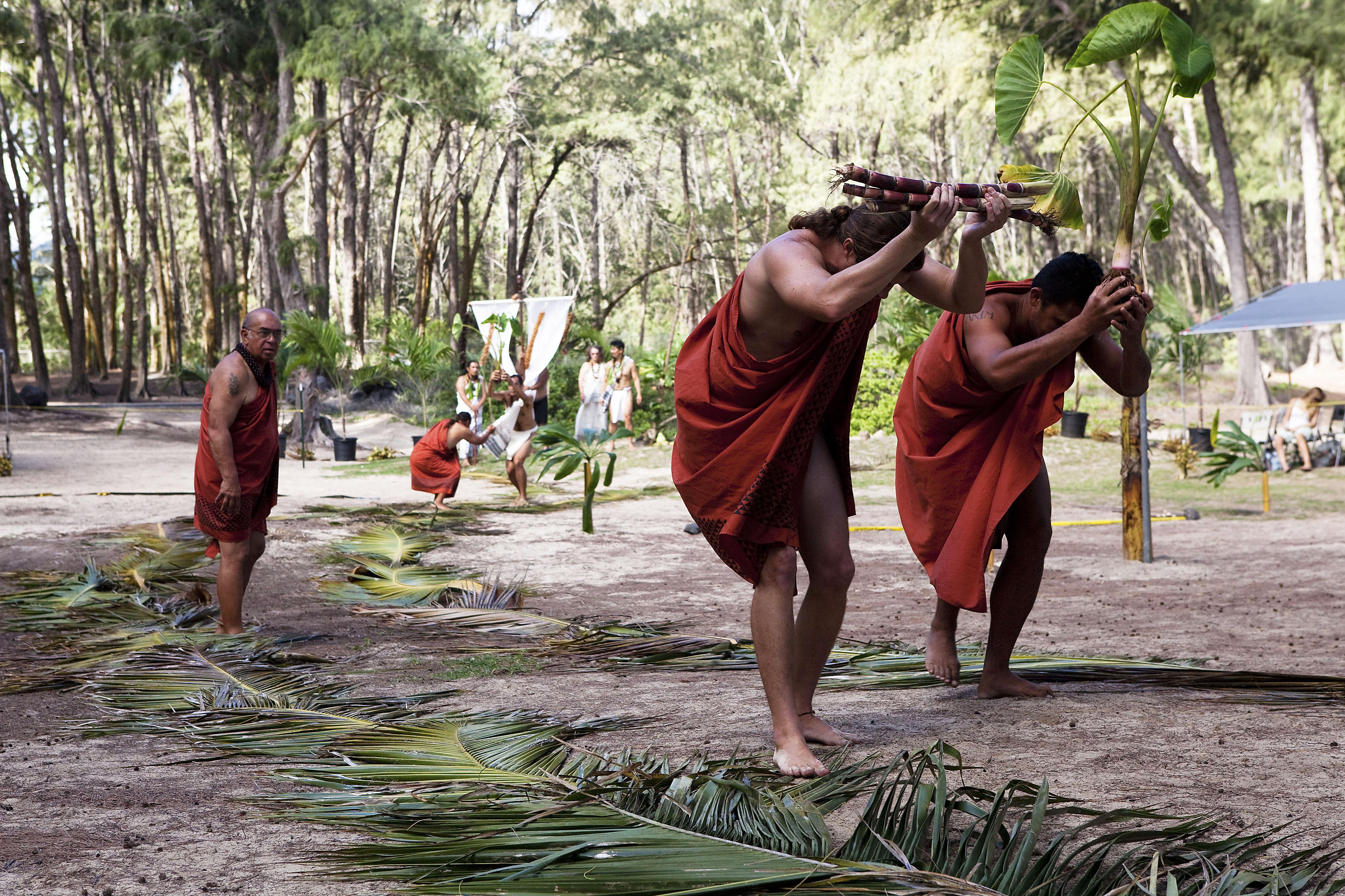 Hawaiian procession
