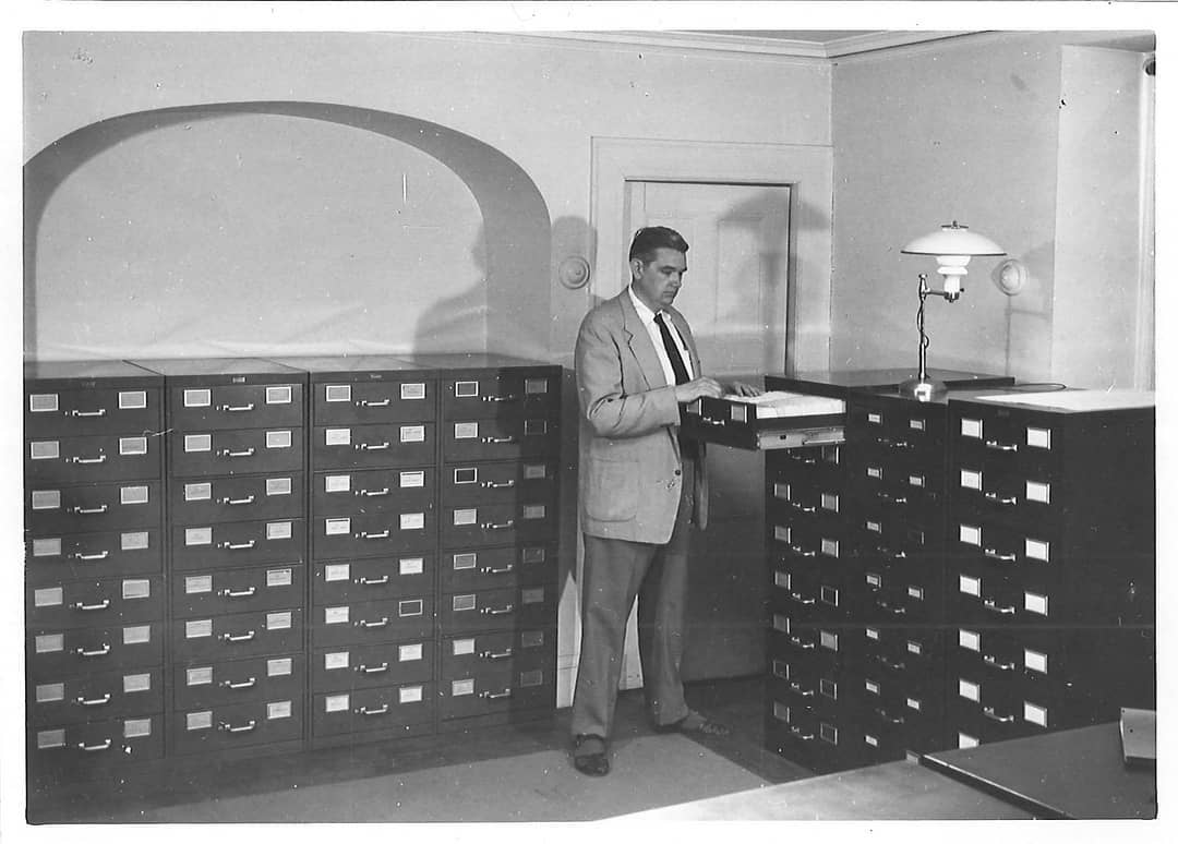 HRAF archive paper files