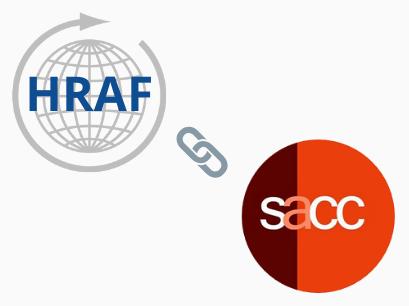 HRAF partnership with SACC
