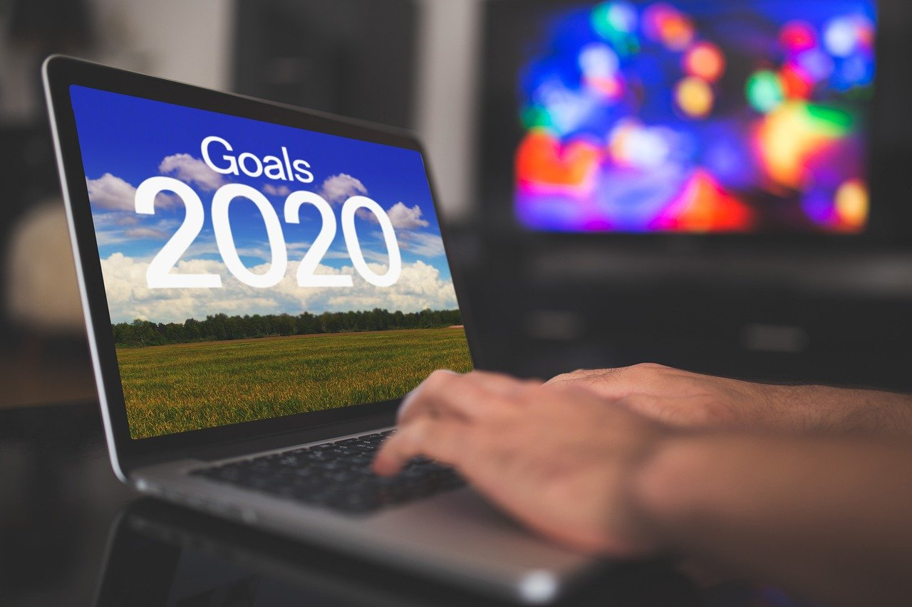 Goals 2020 laptop