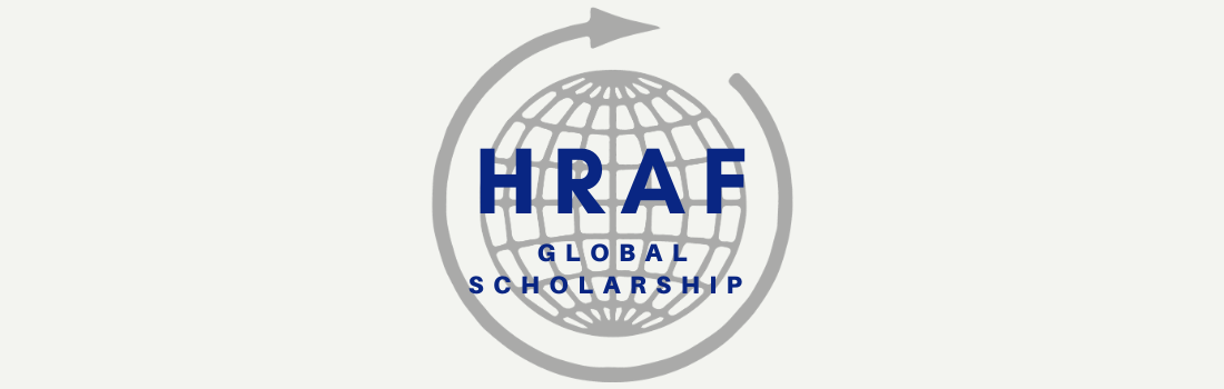 HRAF Global Scholarship Banner