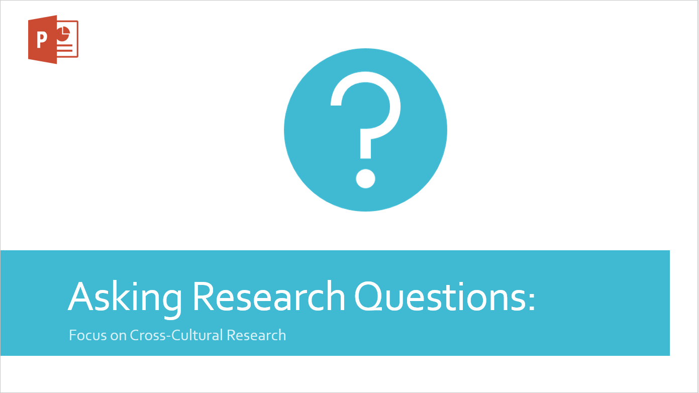 Asking Research Questions ppt