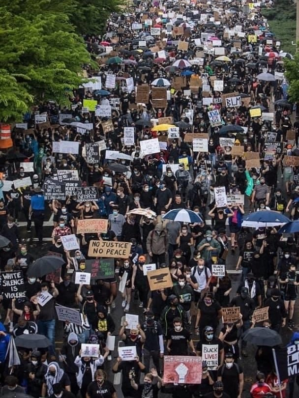 Protest in New Haven, Connecticut on Friday, June 5 at 3pm Photo by Nuke Rankin