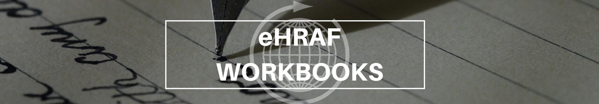 eHRAF Workbooks banner