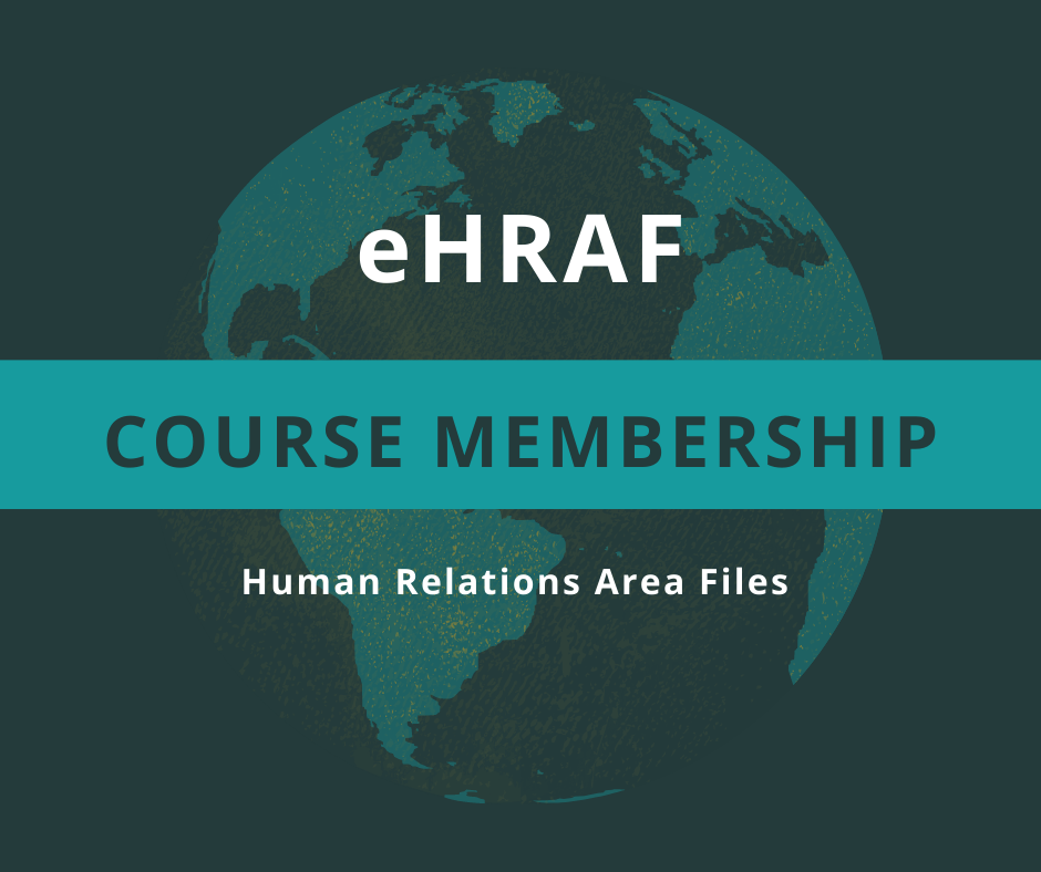 HRAF announces new Course Membership
