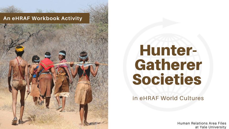 hunter-gatherers sample slide