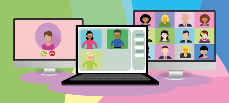 webinar screens feature