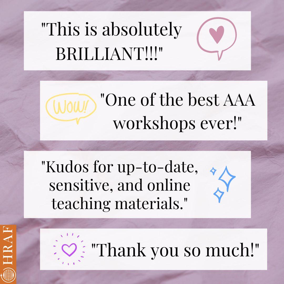 AAA Workshop feature