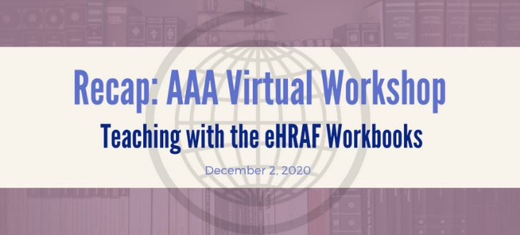 AAA Virtual Workshop recap cover