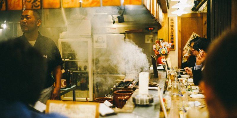 Inside Chinatown restaurant