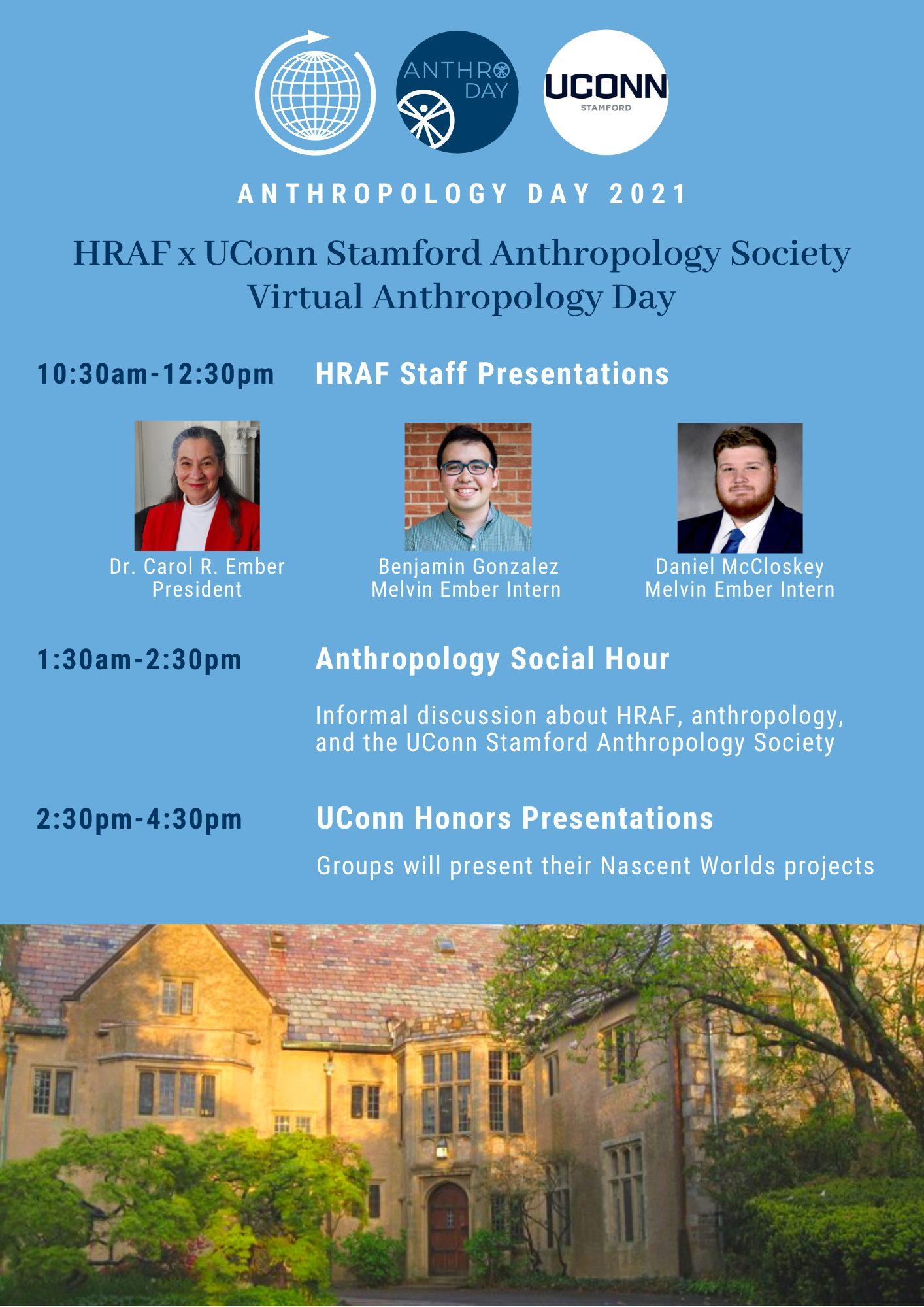 HRAF x UConn Anthro Day