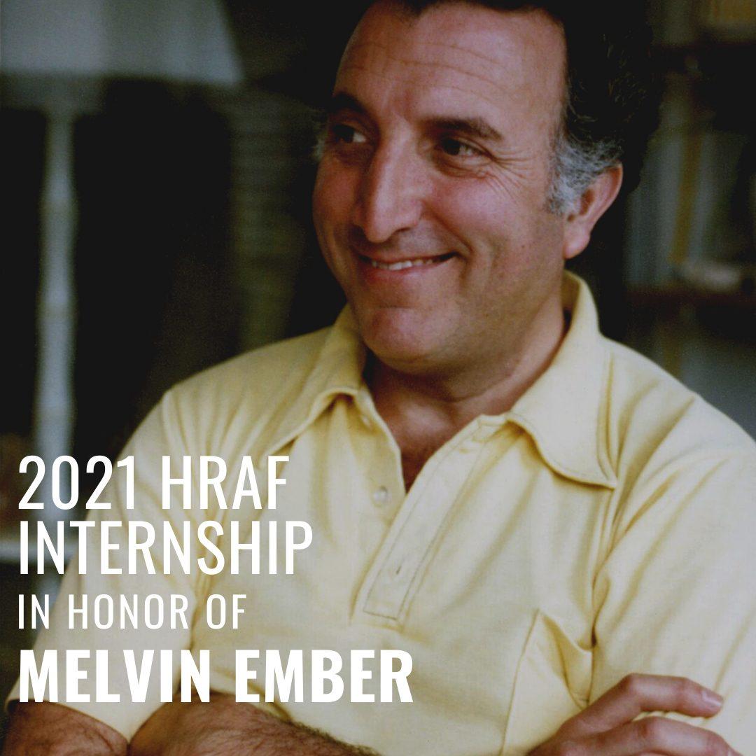 Melvin Ember Internship 2021