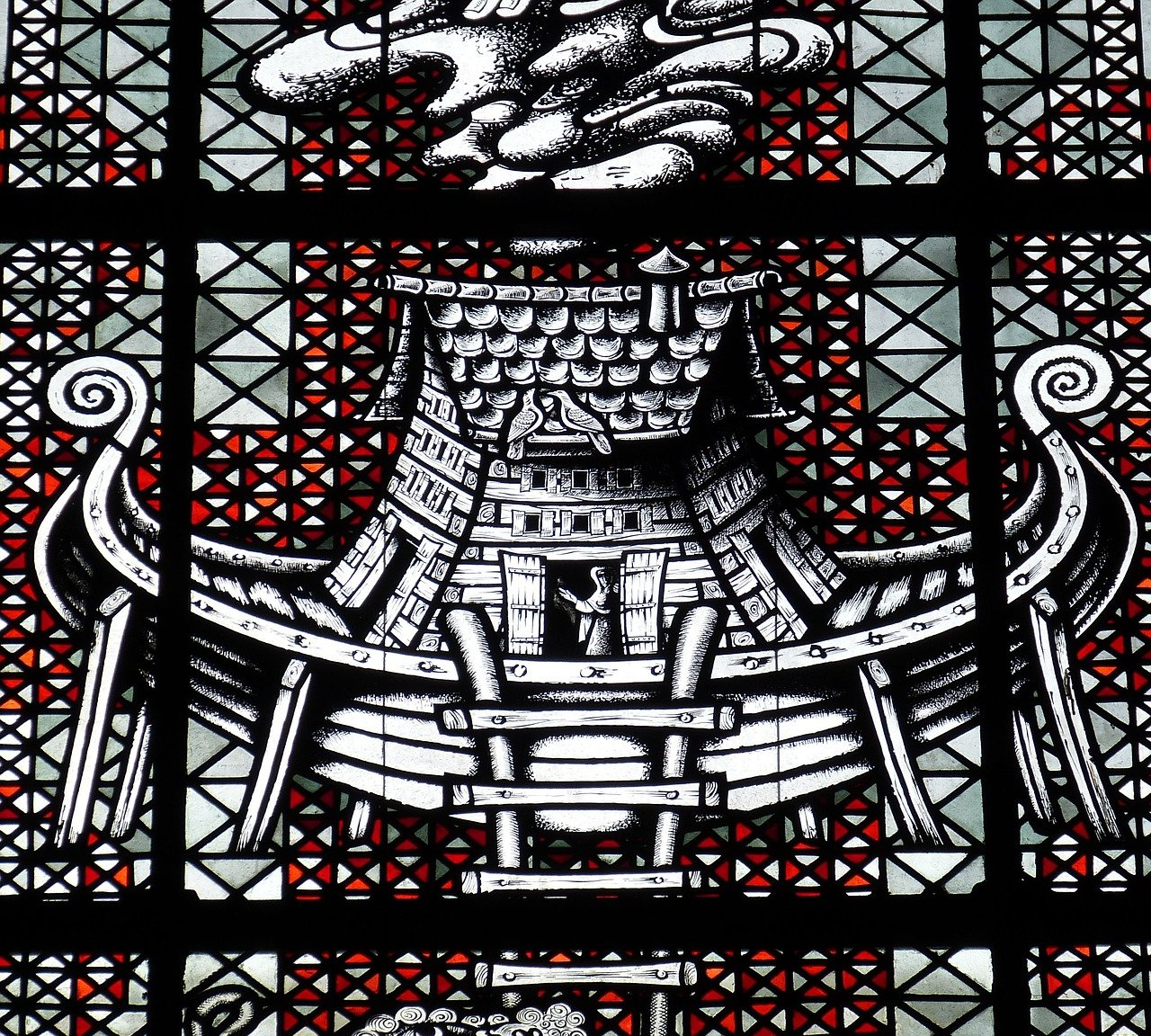 Church window detail