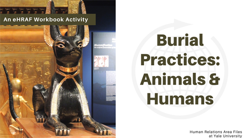 Burial practices with animals